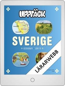 Upptäck Sverige Geografi Lärarwebb 12 mån