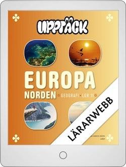 Upptäck Europa Geografi Lärarwebb 12 mån