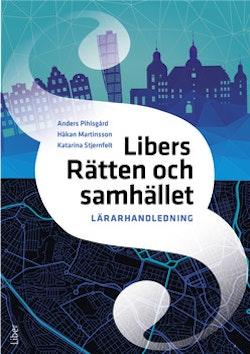 Libers Rätten och samhället Lärarhandledning (nedladdningsbar) 12 mån