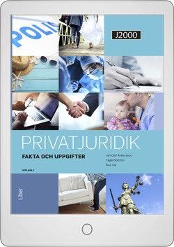 J2000 Privatjuridik Fakta och uppgifter Digitalbok Grupplicens 12 mån