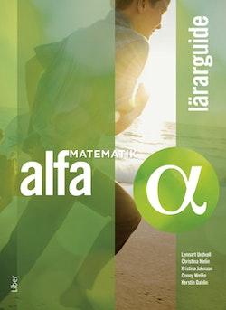 Matematik Alfa Lärarguide