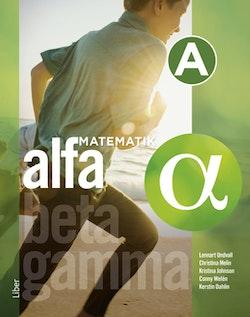 Matematik Alfa A-boken