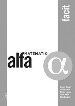 Matematik Alfa Facit