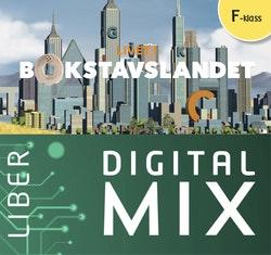 Livet i Bokstavslandet Förskoleklass Digital Mix Elev 12 mån