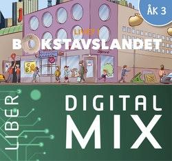 Livet i Bokstavslandet åk 3 Digital Mix Lärare 12 mån