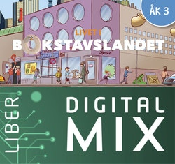 Livet i Bokstavslandet åk 3 Digital Mix Elev 12 mån