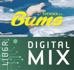 Bums åk 5 Digital Mix Lärare 12 mån