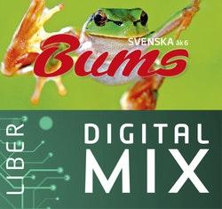 Bums åk 6 Digital Mix Lärare 12 mån