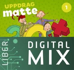Uppdrag Matte 1A+B Digital Mix Elev 12 mån