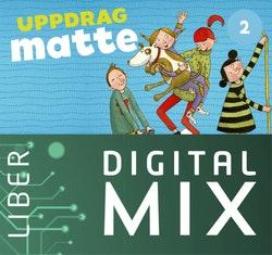 Uppdrag Matte 2A+B Digital Mix Lärare 12 mån