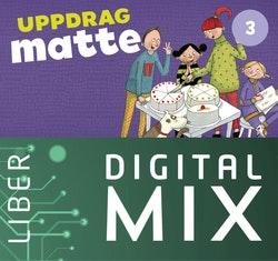 Uppdrag Matte 3A+B Digital Mix Lärare 12 mån