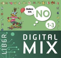 Boken om NO 1-3 Digital Mix Lärare 12 mån