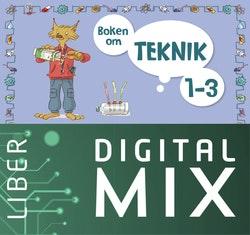 Boken om teknik 1-3 Digital Mix Lärare 12 mån
