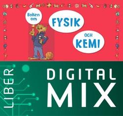Boken om fysik och kemi Digital Mix Lärare 12 mån