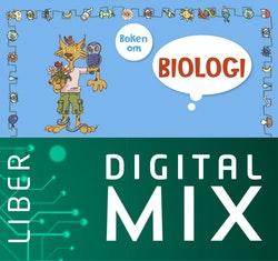 Boken om biologi Digital Mix Lärare 12 mån