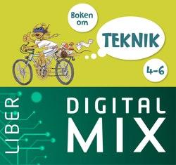 Boken om teknik 4-6 Digital Mix Elev 12 mån
