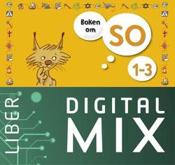 Boken om SO 1-3 Digital Mix Lärare 12 mån
