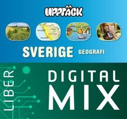 Upptäck Sverige Geografi Digital Mix Lärare 12 mån