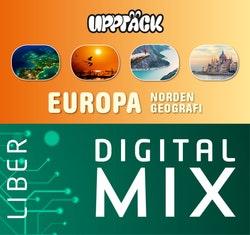 Upptäck Europa Geografi Digital Mix Lärare 12 mån