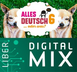 Alles Deutsch 6 Digital Mix Lärare 12 mån