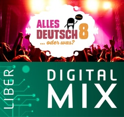 Alles Deutsch 8 Digital Mix Lärare 12 mån