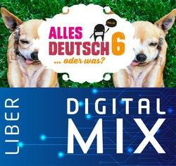 Alles Deutsch 6 Mix Klasspaket (Tryckt och Digitalt) 12 mån