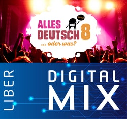 Alles Deutsch 8 Mix Klasspaket (Tryckt och Digitalt) 12 mån