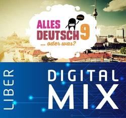 Alles Deutsch 9 Mix Klasspaket (Tryckt och Digitalt) 12 mån