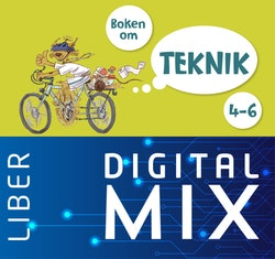 Boken om teknik 4-6 Mix Klasspaket (Tryckt och Digitalt) 12 mån