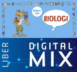 Boken om biologi Mix Klasspaket (Tryckt och Digitalt) 12 mån