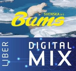 Bums åk 5 Mix Klasspaket (Tryckt och Digitalt) 12 mån