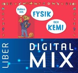 Boken om fysik och kemi Mix Klasspaket (Tryckt och Digitalt) 12 mån