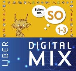 Boken om SO 1-3 Mix Klasspaket (Tryckt och Digitalt) 12 mån