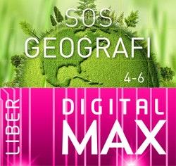 SOS Geografi 4-6 Digital Max Klasspaket 12 mån