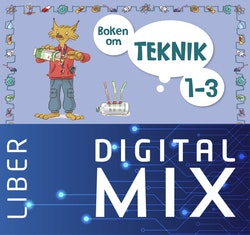 Boken om teknik 1-3 Mix Klasspaket (Tryckt och Digitalt) 12 mån