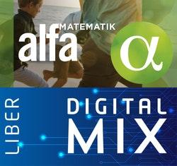 Matematik Alfa Mix Klasspaket (Tryckt och Digitalt) 12 mån