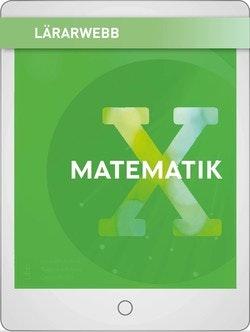 Matematik X Lärarwebb 12 mån