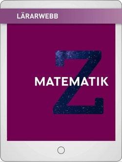 Matematik Z Lärarwebb 12 mån