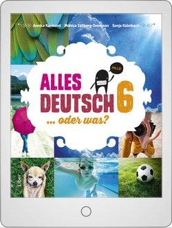 Alles Deutsch 6 Digitalt Övningsmaterial (elevlicens) 12 mån