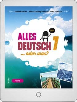 Alles Deutsch 7 Digitalt Övningsmaterial (elevlicens) 12 mån
