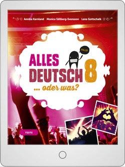 Alles Deutsch 8 Digitalt Övningsmaterial (elevlicens) 12 mån