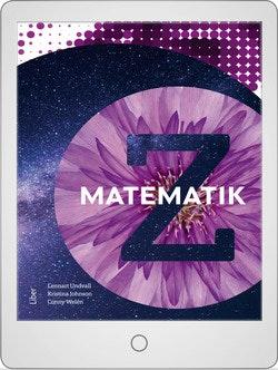 Matematik Z Digitalt Övningsmaterial (elevlicens) 12 mån