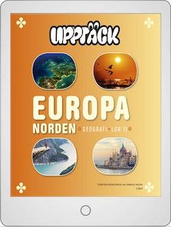 Upptäck Europa Geografi Digitalt Övningsmaterial (elevlicens) 12 mån