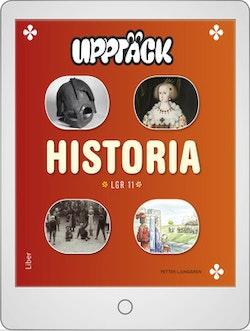 Upptäck Historia Digitalt Övningsmaterial (elevlicens) 12 mån