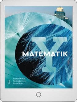 Matematik Y Digitalt Övningsmaterial (elevlicens) 12 mån
