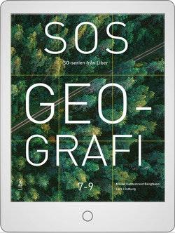 SOS Geografi 7-9 Digitalt Övningsmaterial (elevlicens) 12 mån
