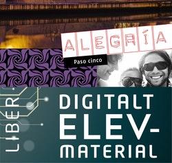 Alegría paso cinco Digitalt Övningsmaterial (elevlicens) 12 mån