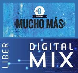 Mucho más åk 8 Mix Klasspaket (Tryckt och Digitalt) 12 mån