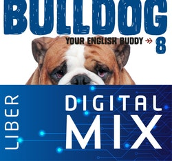 Bulldog åk 8 Mix Klasspaket (Tryckt och Digitalt) 12 mån