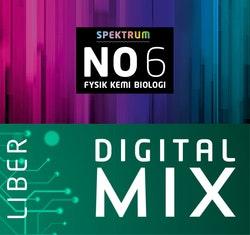 Spektrum NO 6 Mix Digital Lärare 12 mån